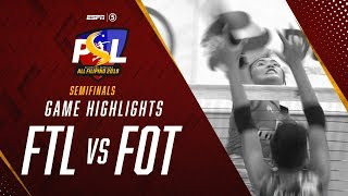 Semifinals G1 Highlights: F2 Logistics vs Foton | PSL All-Filipino Conference 2019