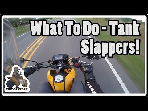 Motorcycle Tank Slappers!