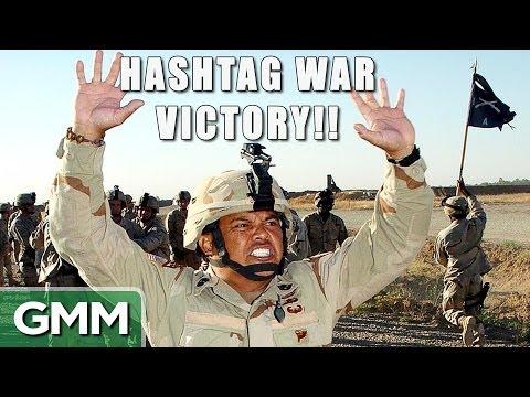 #HASHTAG War Victory!!