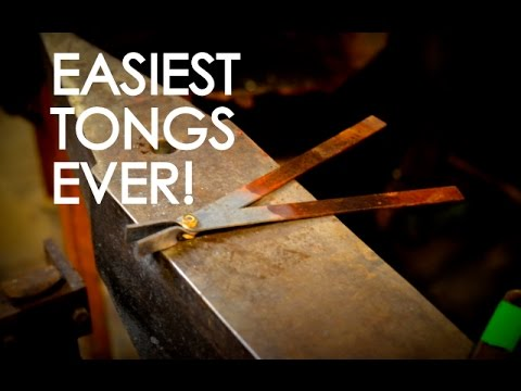 Super Quick Tongs: Making Blacksmith Tongs for the Beginner