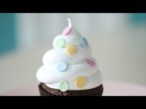 HOW TO MAKE A SWIRL OR A BEAUTIFUL ROSE, CUPCAKE DECORATING 101 EP1