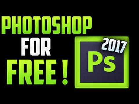How to get Photoshop CC 2017 for free on Windows 7/8/10!!! IN JUST 3MINS (STILL WORKS) | FREE INTROS