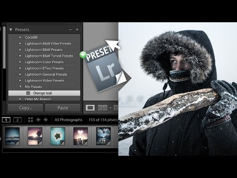 HOW TO IMPORT PRESETS INTO LIGHTROOM | TUTORIAL