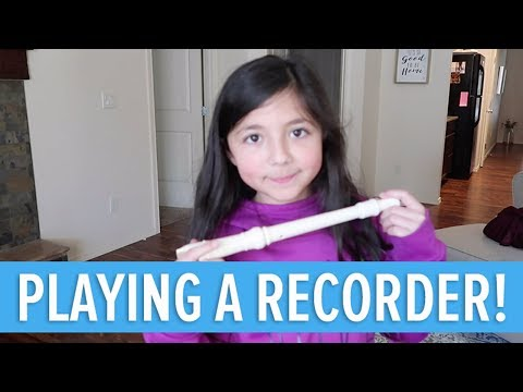 PLAYING THE CHARLIE BROWN THEME SONG WITH A RECORDER