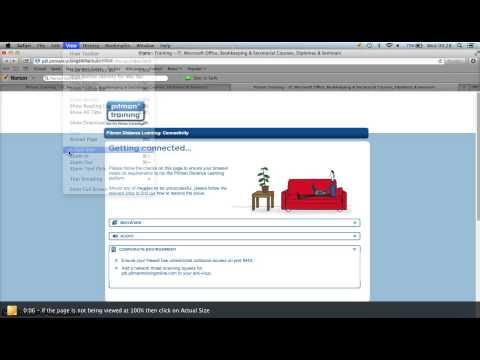 Browser Zoom Settings - Safari