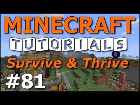Minecraft Tutorials - E81 Horse Breeding 101 (Survive and Thrive Season 6)