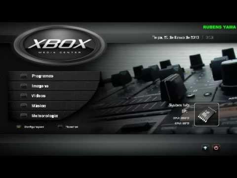 XBMC - PARA XBOX360 RGH - APENAS O TEST