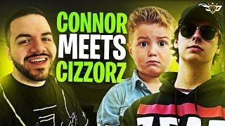 CONNOR MEETS CIZZORZ! HE LETS HIM DIE?! (Fortnite: Battle Royale)
