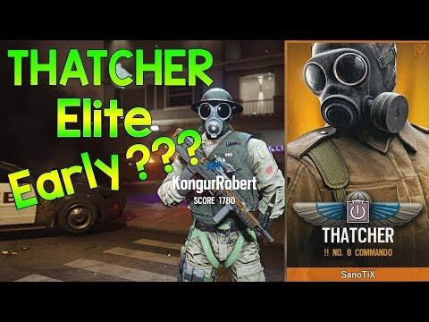 Thatcher ELITE SKIN😲 - Rainbow Six Siege