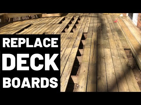 How To Replace Deck Boards