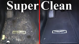 How To Super Clean the Interior of your Car (Carpets \u0026 Headliner)