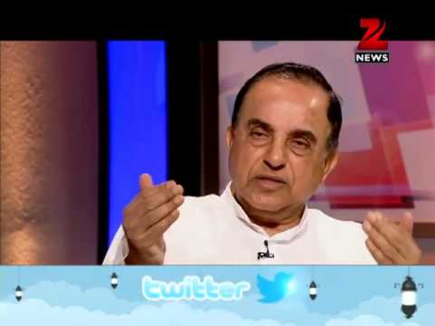 Zee News: Subramanian Swamy talks on ways to curb corruption in India