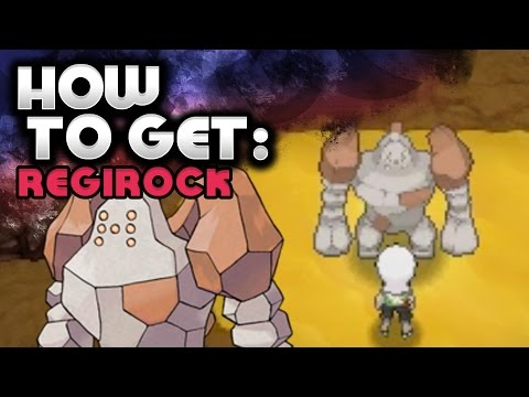 How to Catch Regirock – Pokemon Omega Ruby and Alpha Sapphire
