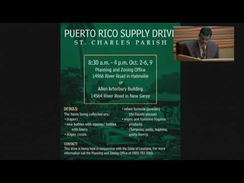 Parish President's Report for Oct  2, 2017