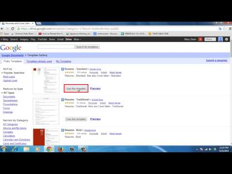 How to Create a Resume in Google Drive