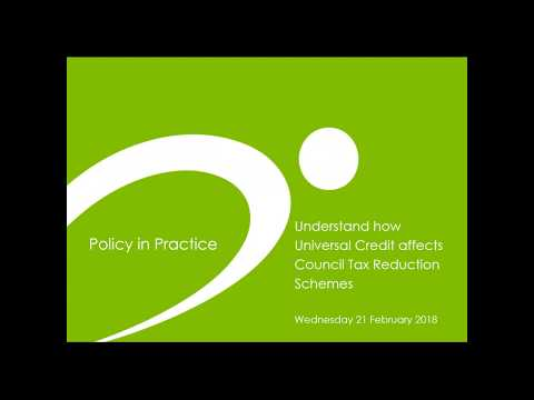 Webinar: Understand how Universal Credit affects Council Tax Reduction Schemes