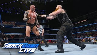 Randy Orton vs. Erick Rowan - No Disqualification Match: SmackDown LIVE, April 25, 2017