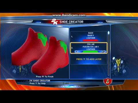 NBA2K14 RGB Shoe Combo Trick Tutorial