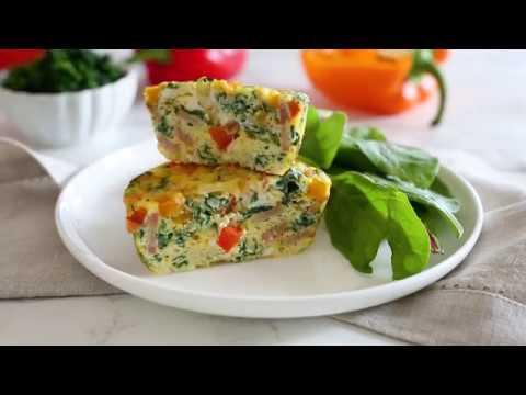 Easy Loaded Egg Baked Omelet