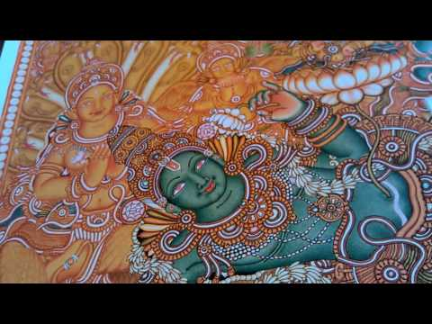 How to learn kerala mural paintng