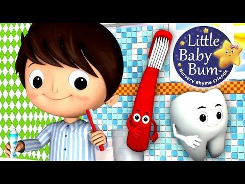 This Is The Way We Brush Our Teeth | Nursery Rhymes | from LittleBabyBum!