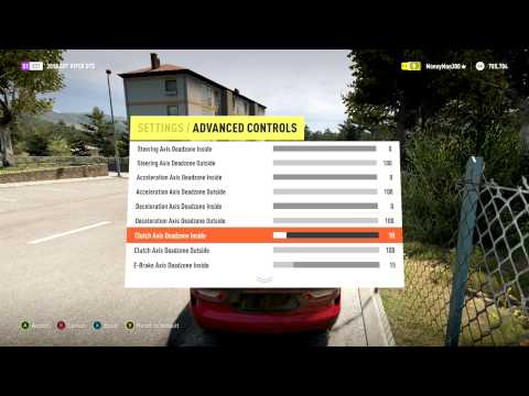 Forza Horizon 2 - Tips & Tricks - Dead Zone Settings and Assists