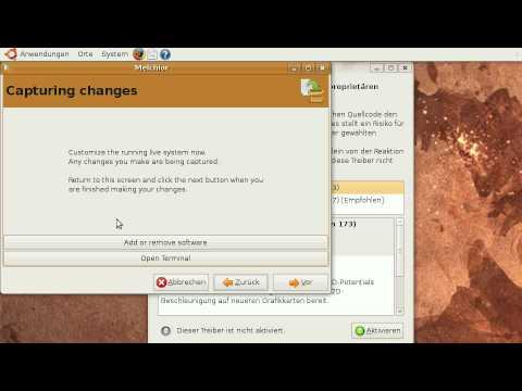 Installing nvidia drivers to Ubuntu Live USB system