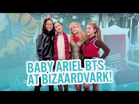 BABY ARIEL BTS AT BIZAARDVARK!