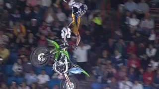 Red Bull X-Fighters 2009 Mexico Semi Final 2 - Levi Sherwood vs Mat Rebeaud