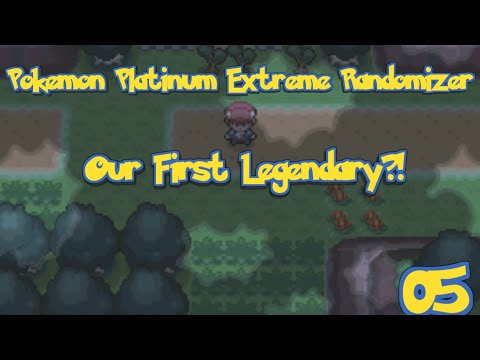 Pokemon Platinum Extreme Randomizer Episode 5 - Our First Wild Legendary
