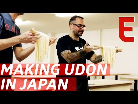 Making Udon From Scratch With A Michelin-Starred Chef — The Udon Show