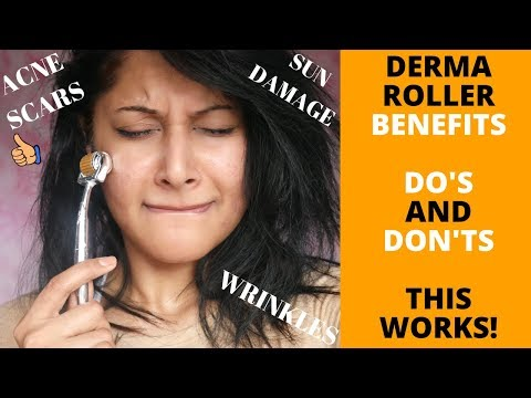 HOW TO USE A DERMA ROLLER | CORRECT METHOD | 10 MICRONEEDLING SIDE EFFECTS & THE RIGHT SIZE