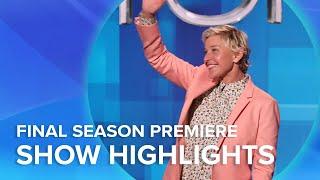 Highlights From Ellen's Final Season Premiere!