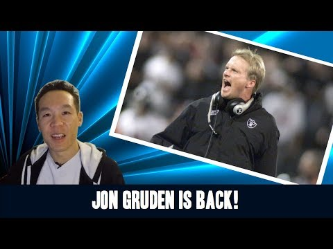 Nukem384 News: Jon Gruden is Back to Coach the Oakland Raiders!