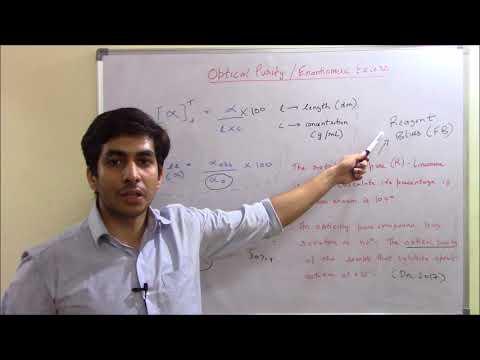 Enantiomeric Excess/ Optical Rotation - Crash Course
