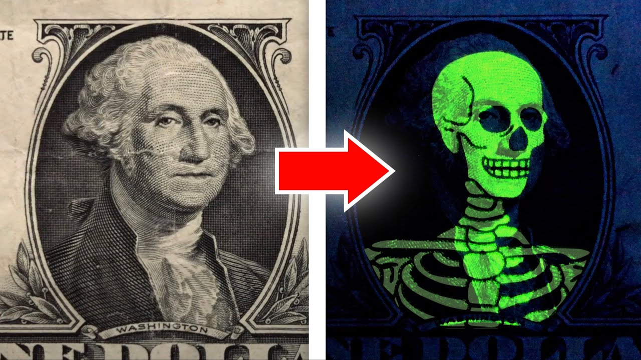 Invisible Ink Banknote Magic