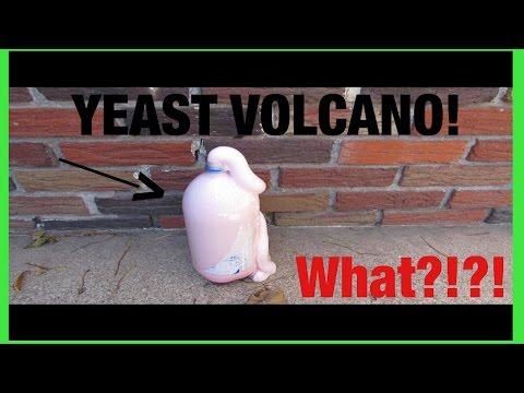 Yeast Volcano