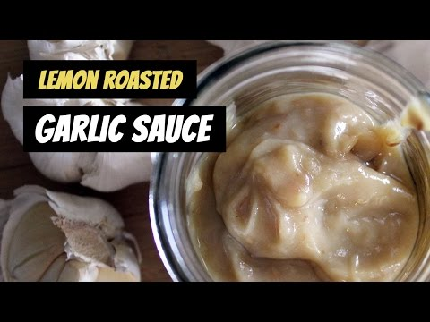 Lemon Roasted Garlic Sauce   Recipe by Mary's Test Kitchen