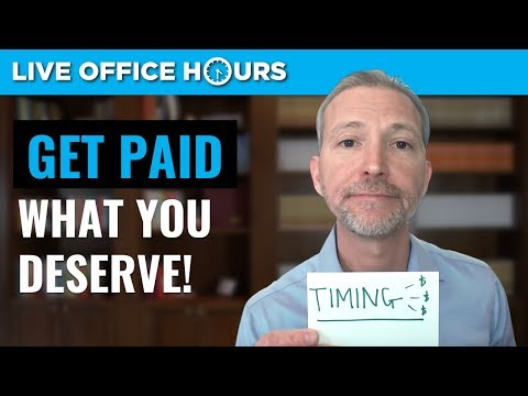 Why You Don't Get Paid What You Deserve: Live Office Hours: Andrew LaCivita
