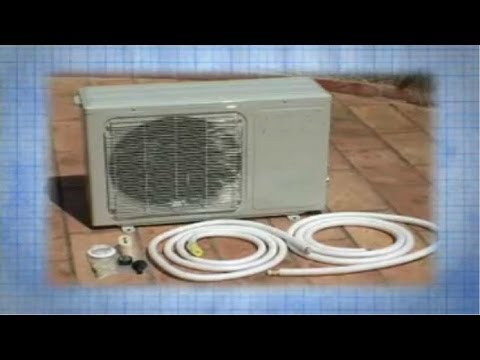 Installation of an Air Conditioning System ductless minisplit ductless mini split