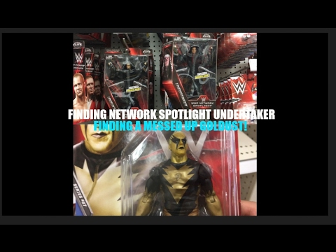 FINDING A MESSED UP GOLDUST & NETWORK SPOTLIGHT UNDERTAKER WWE TOY HUNT (WWE Action Figures!)