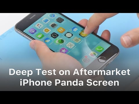 First-hand Test on New iPhone Aftermarket Screen - Panda Screen