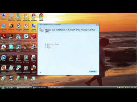 How to add Microsoft Document Scanning in Office 2007