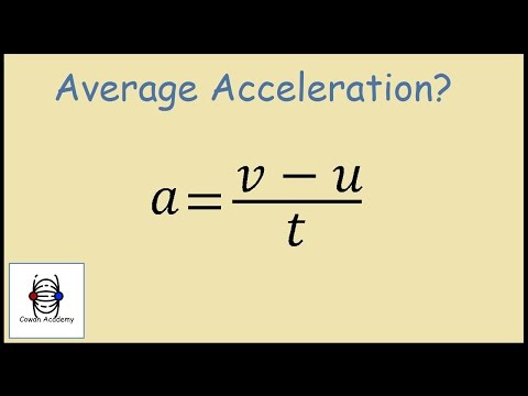 How to Find Acceleration - Physics Example