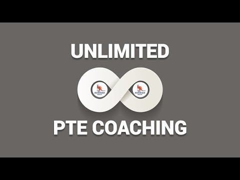 Unlimited PTE Coaching- Ensure to get your desired score!