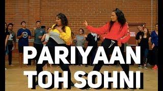AMRIT MAAN - Pariyaan Toh Sohni | BHANGRA FUNK DANCE| Shivani Bhagwan and Chaya Kumar