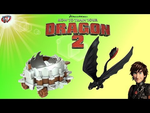 How To Train Your Dragon 2: Toothless vs Dragon Catcher Toy Review, Spin Master