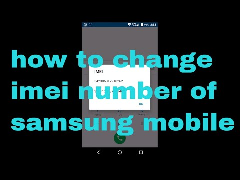 how to change imei number of samsung mobile 2018 | Android Tricks And Hacks