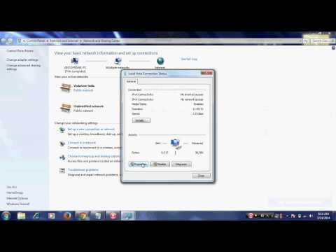 How to share files b/w 2 computer using Ethernet Cable in windows 7( Tamil )