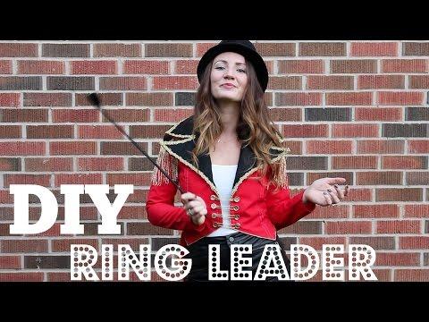 DIY Ringleader Costume